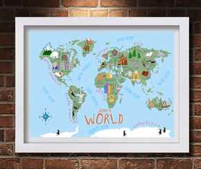 World Map Gifts4Baby
